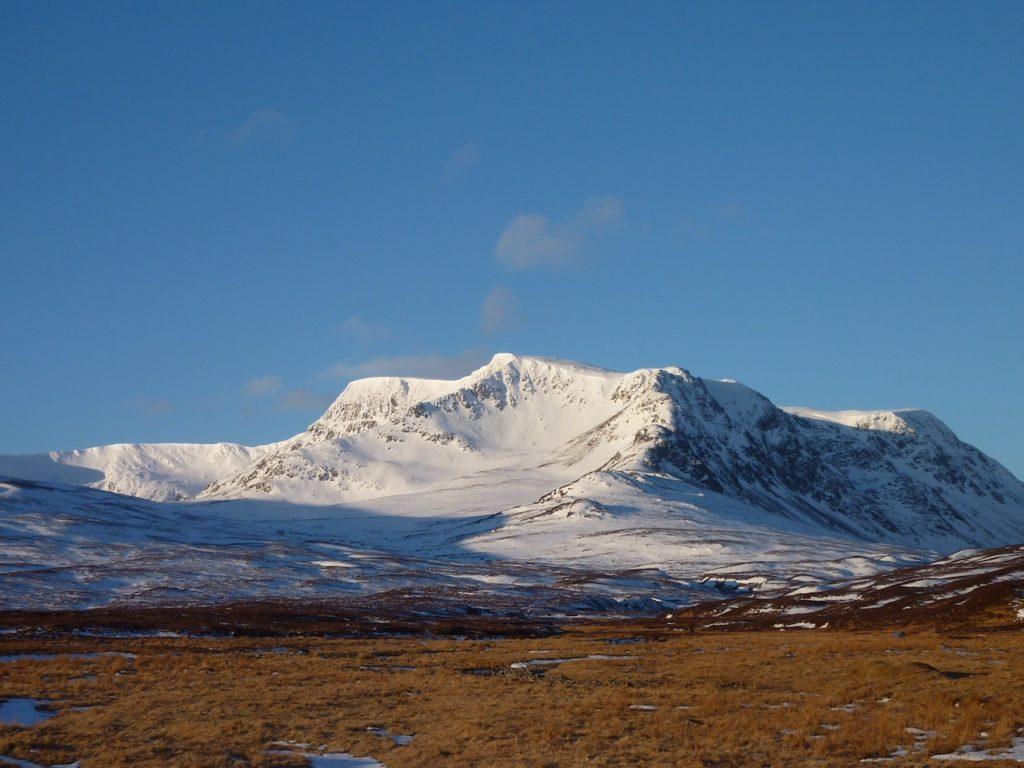 Richard Kermode guided walking and backpacking in Scottish Highlands Ben Alder