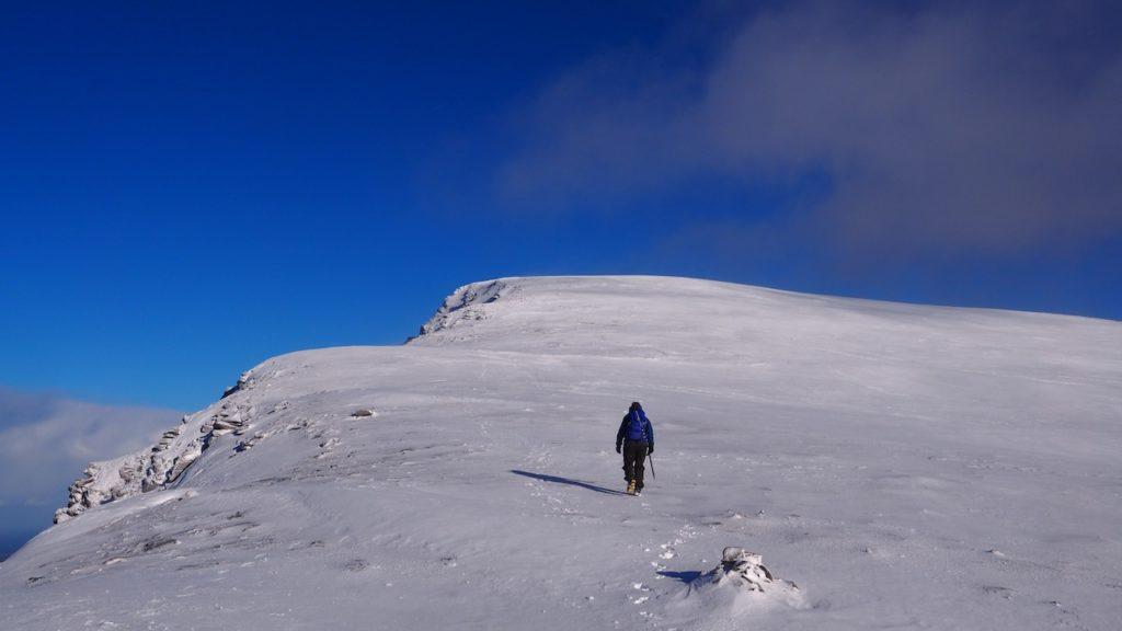 Winter Skills on Ben Hope